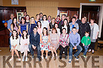 Theresa O'Shea, Glencar seated centre who celebrated her 21st birthday with her family and friends in the Manor Inn Killorglin on Saturday night