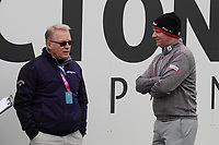 Richard McEvoy (ENG) talks with Keith Pelley, CEO European Tour during the final round of the Made in Denmark presented by Freja, played at Himmerland Golf & Spa Resort, Aalborg, Denmark. 26/05/2019<br /> Picture: Golffile | Phil Inglis<br /> <br /> <br /> All photo usage must carry mandatory copyright credit (© Golffile | Phil Inglis)