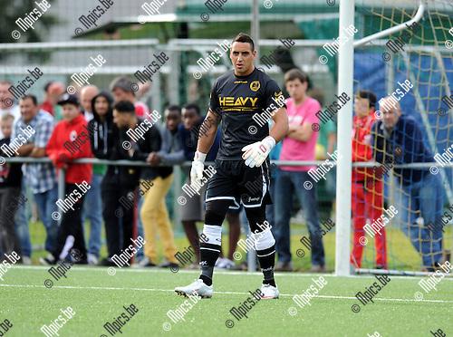 2012-07-12 / Voetbal / seizoen 2012-2013 / SC Merksem / Alan Folfaert..Foto: Mpics.be