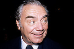 Earnest Borgnine at a promotion for his new movie 'Deadly Blessing' in New York City. August 13, 1981..