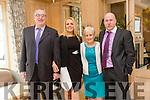 Enjoying the  Austin Stacks Centenary Lunch at Ballygarry House Hotel on Friday were John Tobin, Lorraine Healy, Ena Healy and Seamus O'Mahony