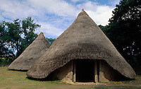 Großbritannien, Wales, Preseli Hills, Castle Henllys aus der Eisenzeit