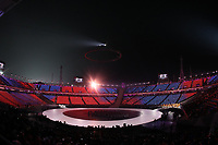 PYEONGCHANG,SOUTH KOREA,09.FEB.18 - OLYMPICS - Olympic Winter Games PyeongChang 2018, official opening ceremony. Image shows the opening ceremony. Photo: GEPA pictures/ Andreas Pranter / Copyright : Explorer-media