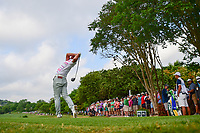 Hideto Tanihara (JAP) watches his tee shot on 3 during round 6 of the World Golf Championships, Dell Technologies Match Play, Austin Country Club, Austin, Texas, USA. 3/26/2017.<br /> Picture: Golffile | Ken Murray<br /> <br /> <br /> All photo usage must carry mandatory copyright credit (&copy; Golffile | Ken Murray)
