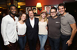 Jelani Alladin, Patti Murin, Rob Ashford, Caissie Levy, Greg Hildreth and John Riddle during the Rob Ashford portrait unveiling for the Sardi's Wall of Fame on October 10, 2018 at Sardi's Restaurant in New York City.
