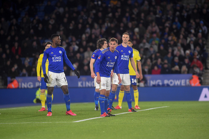 Leicester City's Marc Albrighton<br /> <br /> Photographer Hannah Fountain/CameraSport<br /> <br /> The Emirates FA Cup Fifth Round - Leicester City v Birmingham City - Wednesday 4th March 2020 - King Power Stadium - Leicester<br />  <br /> World Copyright © 2020 CameraSport. All rights reserved. 43 Linden Ave. Countesthorpe. Leicester. England. LE8 5PG - Tel: +44 (0) 116 277 4147 - admin@camerasport.com - www.camerasport.com