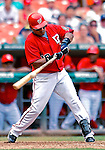 5 August 2007: Washington Nationals infielder Ronnie Belliard in action against the St. Louis Cardinals at RFK Stadium in Washington, DC. The Nationals defeated the Cardinals 6-3 to sweep their 3-game series...Mandatory Photo Credit: Ed Wolfstein Photo