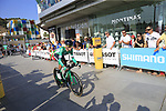 Cristian Rodriguez Martin (ESP) Caja Rural-Seguros RGA during Stage 1 of the La Vuelta 2018, an individual time trial of 8km running around Malaga city centre, Spain. 25th August 2018.<br /> Picture: Ann Clarke | Cyclefile<br /> <br /> <br /> All photos usage must carry mandatory copyright credit (© Cyclefile | Ann Clarke)