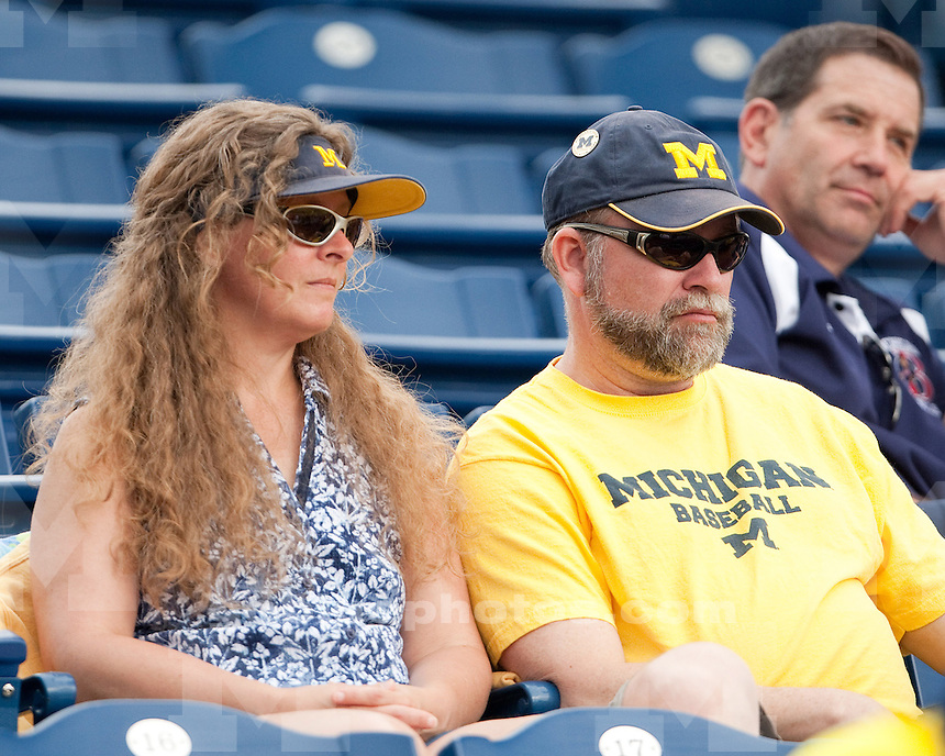 University of Michigan baseball 5-4 victory (in 11 innings) at Ray Fisher Stadium/Wilpon Baseball Complex in Ann Arbor, MI, on May 20, 2011.