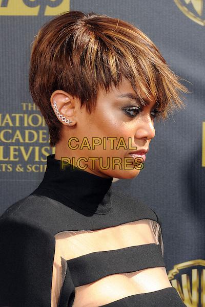 26 April 2015 - Burbank, California - Tyra Banks. The 42nd Annual Daytime Emmy Awards held at Warner Bros. Studios. <br /> CAP/ADM/BP<br /> &copy;BP/ADM/Capital Pictures