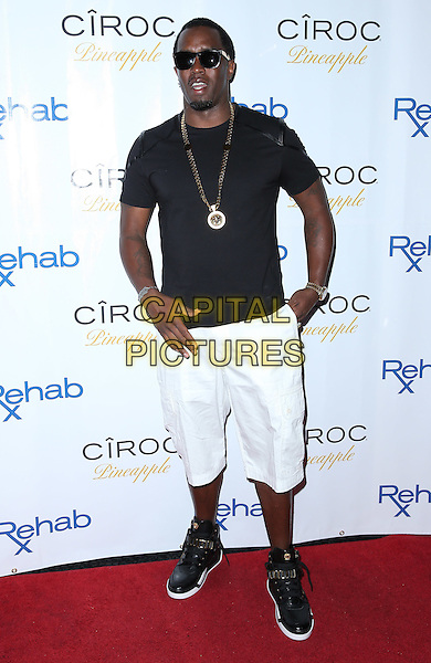 31 August 2014 - Las Vegas, Nevada - Puff Daddy. Puff Daddy celebrates Labor Day Weekend at REHAB at the Hard Rock Hotel and Casino.  <br /> CAP/ADM/MJT<br /> &copy; MJT/AdMedia/Capital Pictures