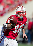 Wisconsin Badgers quarterback Scott Tolzien (16) pitches the ball during an NCAA college football game against the Minnesota Golden Gophers on October 9, 2010 at Camp Randall Stadium in Madison, Wisconsin. The Badgers beat the Golden Gophers 41-23. (Photo by David Stluka)
