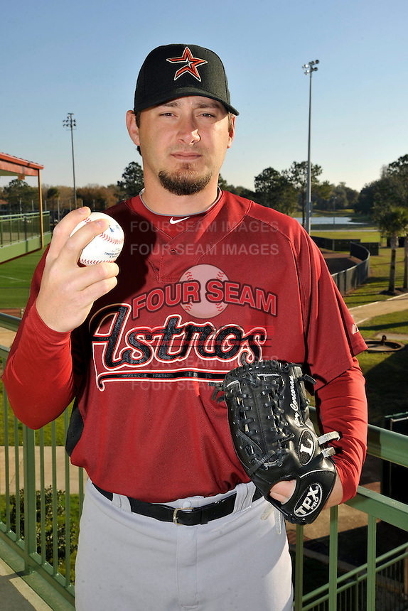 Feb 25, 2010; Kissimmee, FL, USA; The Houston Astros pitcher Roy Corcoran (62) during photoday at Osceola County Stadium. Mandatory Credit: Tomasso De Rosa/ Four Seam Images
