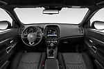 Stock photo of straight dashboard view of a 2020 Mitsubishi ASX Diamond Edition 5 Door SUV