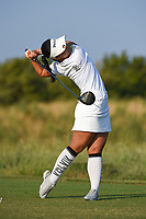 Youngin Chun (USA) watches her tee shot on 1 during the round 3 of the Volunteers of America Texas Classic, the Old American Golf Club, The Colony, Texas, USA. 10/5/2019.<br /> Picture: Golffile   Ken Murray<br /> <br /> <br /> All photo usage must carry mandatory copyright credit (© Golffile   Ken Murray)