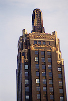 Chicago: Carbide & Carbon Building, 1929, 230 N. Michigan Ave. Architects, Burnham Brothers. Photo '88.