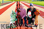An Riocht's Denis Brosnan and James O'Shea are appealing for people to come to An Riocht track Christmas day morning for the annual Goal Mile