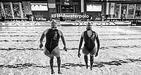 Warm Up <br /> Firenze 19-11-2019 Piscina Nannini <br /> water polo Women's World League <br /> Italy ITA - Nederland NED <br /> Photo Andrea Staccioli/Deepbluemedia/Insidefoto