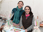 Bernadette Stokes and Sandra Stokes McCullough pictured at Dunleer Christmas fair. Photo:Colin Bell/pressphotos.ie