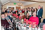 Annual Dinner:Members of the Listowel Badminton Club attending their annual at Eabha Joan's Restaurant, Listowel on Saturday night last.