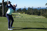 Rafa Cabrera Bello (ESP) at Monterey Peninsula GC during the first round of the AT&T Pro-Am, Pebble Beach Golf Links, Monterey, California, USA. 06/02/2020<br /> Picture: Golffile | Phil Inglis<br /> <br /> <br /> All photo usage must carry mandatory copyright credit (© Golffile | Phil Inglis)