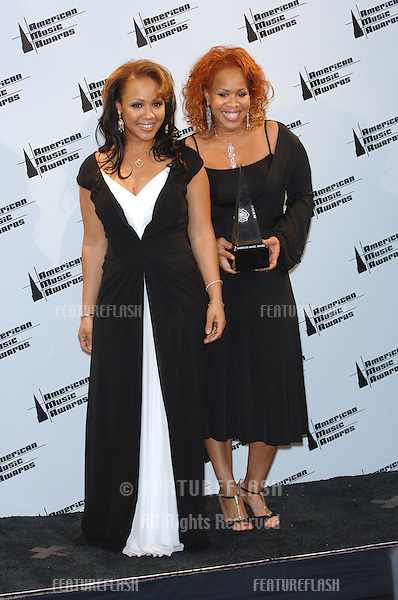 MARY MARY at the 2005 American Music Awards in Los Angeles..November 22, 2005  Los Angeles, CA.© 2005 Paul Smith / Featureflash