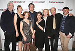 Director Robert Falls, Glenne Headly, Juliet Brett, Bill Pullman, Playwright Beth Henley, Amy Madigan, Ed Harris and Scott Elliott attend the Opening Night Party for 'the New Group Production of 'The Jacksonian' at Ktchn in The Out on November 7, 2013  in New York City.