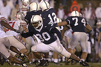08 October 2005:  Penn State FB BranDon Snow (30)..The Penn State Nittany Lions knocked off the #6 Ohio State Buckeyes 17-10 October 8, 2005 at Beaver Stadium in State College, PA..