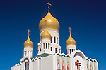 Russian Orthodox Church on Geary Street, San Francisco, California
