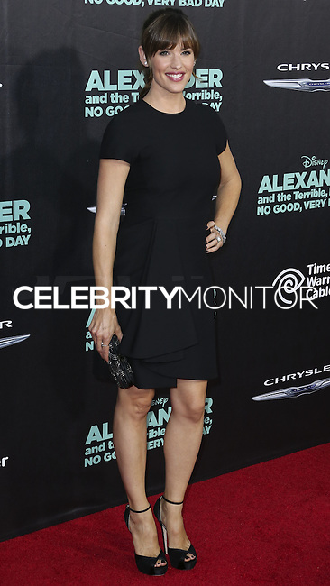 """HOLLYWOOD, LOS ANGELES, CA, USA - OCTOBER 06: Actress Jennifer Garner arrives at the World Premiere Of Disney's """"Alexander And The Terrible, Horrible, No Good, Very Bad Day"""" held at the El Capitan Theatre on October 6, 2014 in Hollywood, Los Angeles, California, United States. (Photo by Xavier Collin/Celebrity Monitor)"""