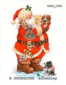 GIORDANO, CHRISTMAS SANTA, SNOWMAN, WEIHNACHTSMÄNNER, SCHNEEMÄNNER, PAPÁ NOEL, MUÑECOS DE NIEVE, paintings+++++,USGI1929,#X# stickers