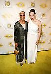 "Legendary Dionne Warwick and  granddaughter Cheyenne Elliott Attend the Tenth Annual Project Sunshine Benefit, ""Ten Years of Evenings Filled with Sunshine"" honoring Dionne Warwick, Music Legend and Humanitarian Presented by Clive Davis Held At Cipriani 42nd street"