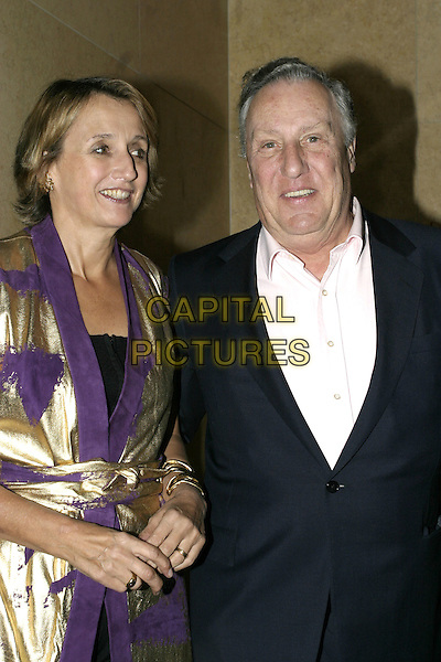 "FREDERICK FORSYTHE.Launch party for Joan Collins' new book, ""Misfortune's Daughters"", Frankies, Yeoman's Row, London, .October 19th 2004..half length.Ref: AH.www.capitalpictures.com.sales@capitalpictures.com.©Capital Pictures."