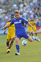 Jimmy Conrad...Kansas City Wizards and Real Salt Lake played to a 1-1 tie at Community America Ballpark, Kansas City, Kansas.