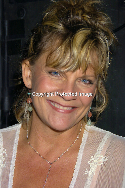 Kim Zimmer ..at The Goldin and Park Cabaret starring Ricky Paull Goldin from Guiding Light and Michael Park from As The World Turns. Kim Zimmer, Robert Newman and Mandy Bruno also sang. This was at The Triad NYC on April 16, 2005, and  was a benefit for Bill Runyon's family. ..Photo by Robin Platzer, Twin Images