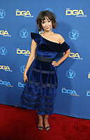 LOS ANGELES, CA - FEBRUARY 2: Milana Vayntrub at the 71st Annual DGA Awards at the Hollywood &amp; Highland Center's Ray Dolby Ballroom  in Los Angeles, California on February 2, 2019. <br /> CAP/MPIFS<br /> &copy;MPIFS/Capital Pictures