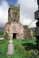 Abandoned Church & Cemetery, Cloghane, County Kerry, Ireland