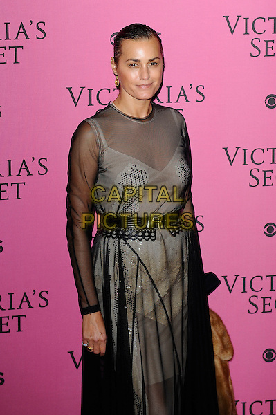 LONDON, ENGLAND - DECEMBER 2: Yasmin Le Bon attends the pink carpet for Victoria's Secret Fashion Show 2014, Earls Court on December 2, 2014 in London, England.<br /> CAP/MAR<br /> &copy; Martin Harris/Capital Pictures