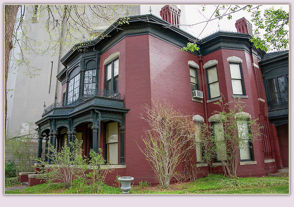 """Byers-Evans House Museum, an historic landmark next to downtown Denver. From John's 5th book: """"Denver Colorado: A Photographic Portrait.""""<br /> Private photo tours of Denver by John. Click the above CONTACT button for inquiries."""