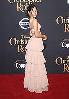 30 July 2018 - Burbank, California - Jenna Ortega. Disney's 'Christopher Robin' Los Angeles Premiere held at Walt Disney Studios. <br /> CAP/ADM/FS<br /> &copy;FS/ADM/Capital Pictures