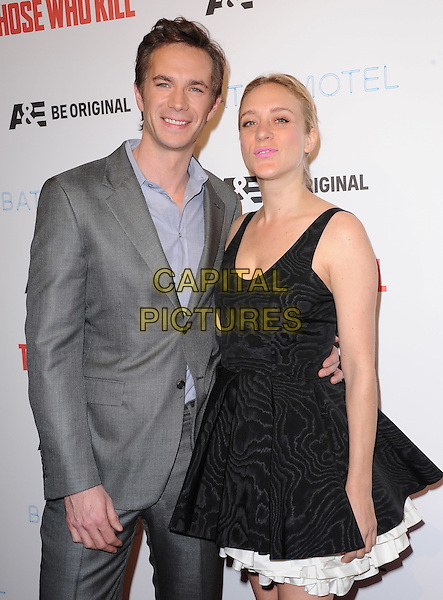 LOS ANGELES, CA - FEBRUARY 26 -James D'Arcy and Chloe Sevigny attends The Premiere Party for A&amp;E's Those Who Kill and Season 2 of Bates Motel held at Warwick in Hollywood, California on February 26,2014                                                                              <br /> CAP/DVS<br /> &copy;DVS/Capital Pictures