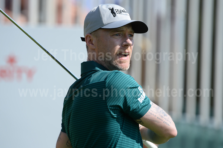 Boyzone band member Ronan Keating during The 2017 Celebrity Cup golf tournament at the Celtic Manor Resort, Newport, South Wales. 1.07.2017 <br /> <br /> <br /> Jeff Thomas Photography -  www.jaypics.photoshelter.com - <br /> e-mail swansea1001@hotmail.co.uk -<br /> Mob: 07837 386244 -