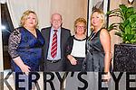 Sharon O'Mahony, Don O'Mahony, Sis O'Mahony, Marion O'Mahony from Tralee at Kerry IFA 70th. Anniversary Dinner at Ballygarry House hotel on Friday
