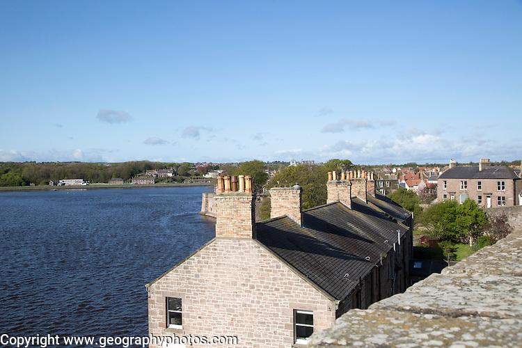 Mouth of the River Tweed, Berwick-upon-Tweed, Northumberland, England, UK