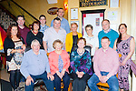 Joan Doyle, Maulykebane, Headford, Killarney who celebrated her 70th birthday with her family and friends in the Lord Kenmare's restaurant on Saturday front row l-r: Timmy, Joan Doyle, Sheila Moynihan and Sean Doyle Back row: Julia Mary O'Donoghue, Kieran O'Donoghue, Catriona Doyle, Jamie O'Donoghue, Eoin Doyle, Derek Moynihan, Marguerite Moynihan, Mary Doyle, Padraig Doyle and Helen O'Brien.