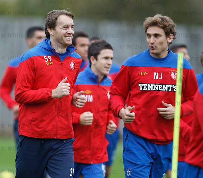 Sasa Papac and Nikica Jelavic