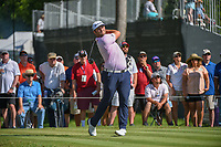 Jon Rahm (ESP) watches his tee shot on 3 during round 3 of the Fort Worth Invitational, The Colonial, at Fort Worth, Texas, USA. 5/26/2018.<br /> Picture: Golffile | Ken Murray<br /> <br /> All photo usage must carry mandatory copyright credit (&copy; Golffile | Ken Murray)
