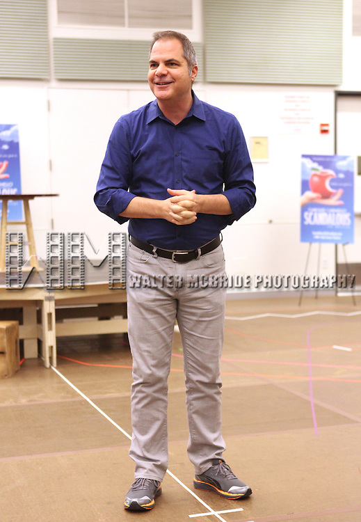 Director David Armstrong performing at the rehearsal presentation for 'Scandalous The Musical' at the New 42nd Street Studios on Monday, Sept. 24, 2012 in New York.