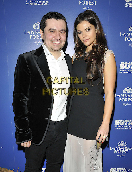 LONDON, ENGLAND - MARCH 20: Nasib Piriyev &amp; Olena Piriyev attend the Closing Party Of The Buta Festival &amp; Exclusive Preview Of The World's First Fragrance Inspired by Azerbaijan, Royal Academy of Arts, Burlington Gardens, on Friday March 20, 2015 in London, England, UK. <br /> CAP/CAN<br /> &copy;Can Nguyen/Capital Pictures