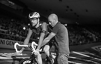 Sir Bradley Wiggins (GBR/Wiggins)<br /> <br /> Ciao Fabian<br /> <br /> Farewell event in 't Kuipke in Gent/Belgium for Fabian Cancellara after retiring for pro racing (november 2016)